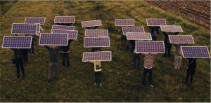 Collectieve zonne-energie project