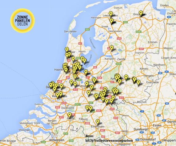 151110 locatie collectieve zonne-energieprojecten