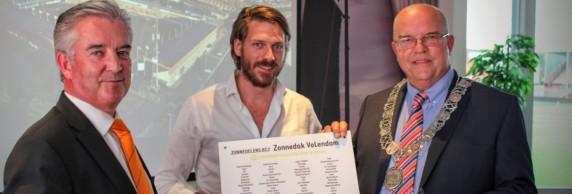 Zonnedak Volendam - financiering met crowdfunding en bankprojectfinanciering