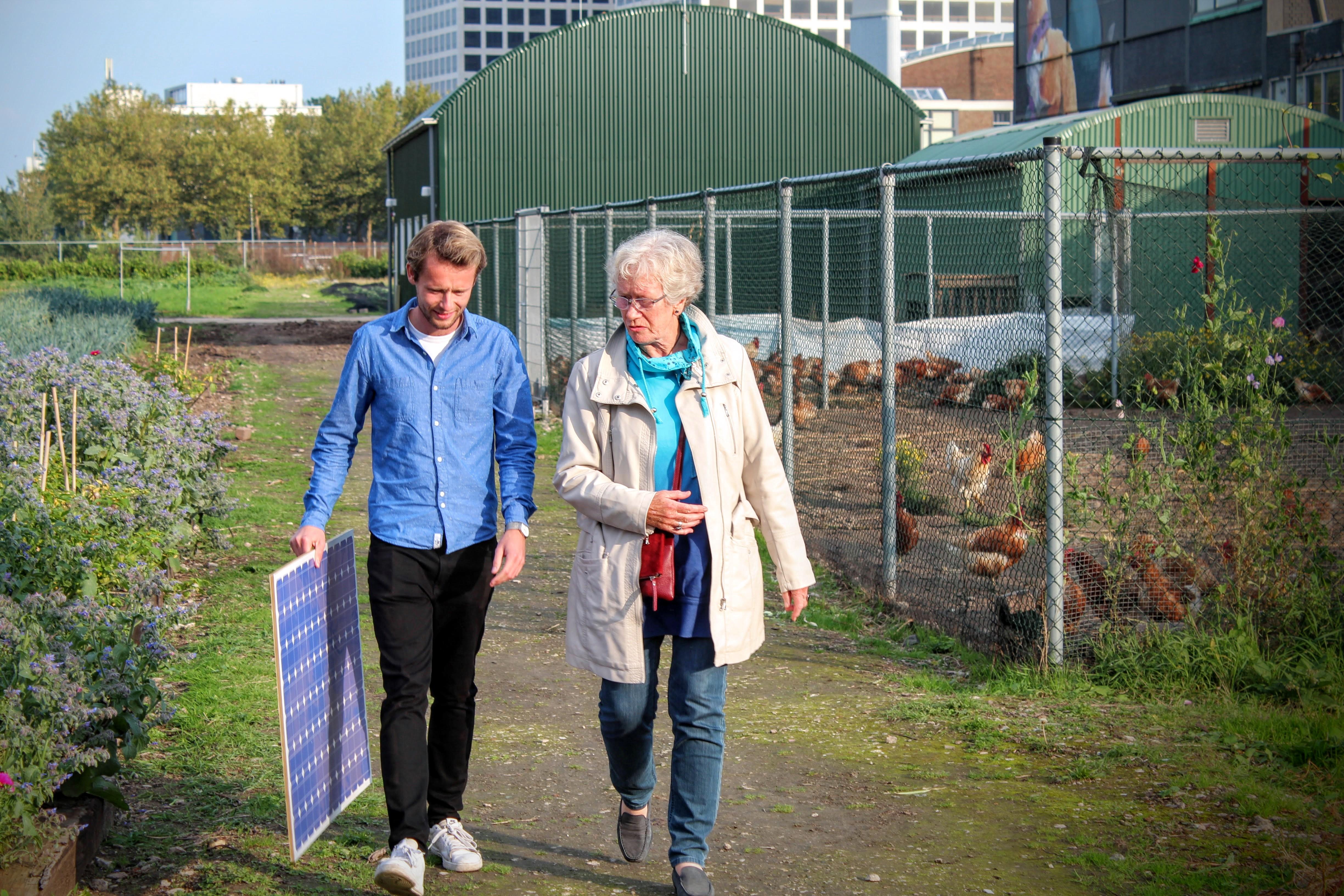crowdfunding voor zonnepanelen - uit je eigen stad