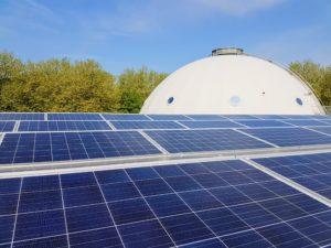 Zonnedak Planetarium - crowdfunding van zonne-energie