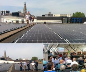 Opening ZonneVeste - de Nieuwe Veste Breda door BRES Breda, powered by ZonnepanelenDelen