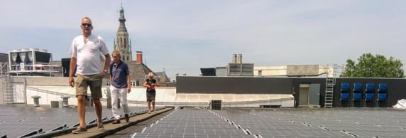 Zonnedak bij de Nieuwe Veste - ZonnepanelenDelen