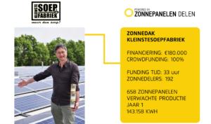 crowdfunding Zonne-energieproject kleinstesoepfabriek