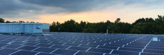 ZonneDelen Solar C van collectief zonne-energie project - zonnedak op gebouw van Sectie C in Eindhoven