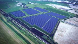 Zonnepark de Kie in Franeker gemeente Waadhoeke - door Solarfields