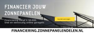 financiering zonnepanelendelen blogpost