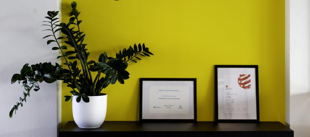 ZonnepalenenDelen kantoor