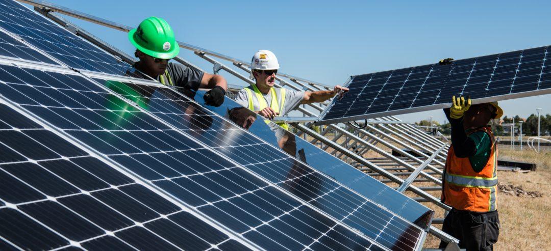 bouw zon-pv systeem